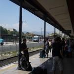 アテネ→カランバカ(メテオラ!!)鉄道移動♪