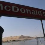 アスワンでマクドナルド。他。