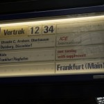 アムステルダム→ケルン鉄道移動。