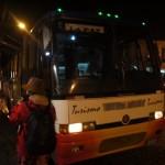 ラパスからウユニへトドツーリスモの夜行バスで移動するよ!